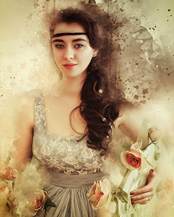 Девушки Картинки Фантазии Готика