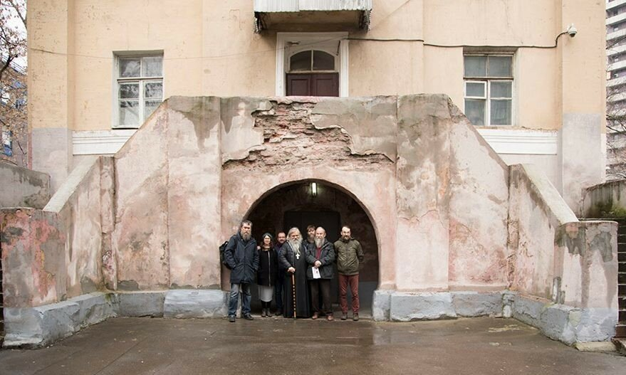 Новости о старообрядческой соборной церкви на Апухтинке.