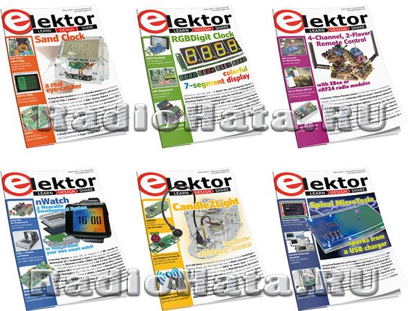Elektor Electronics №1-12 (January-December 2017)