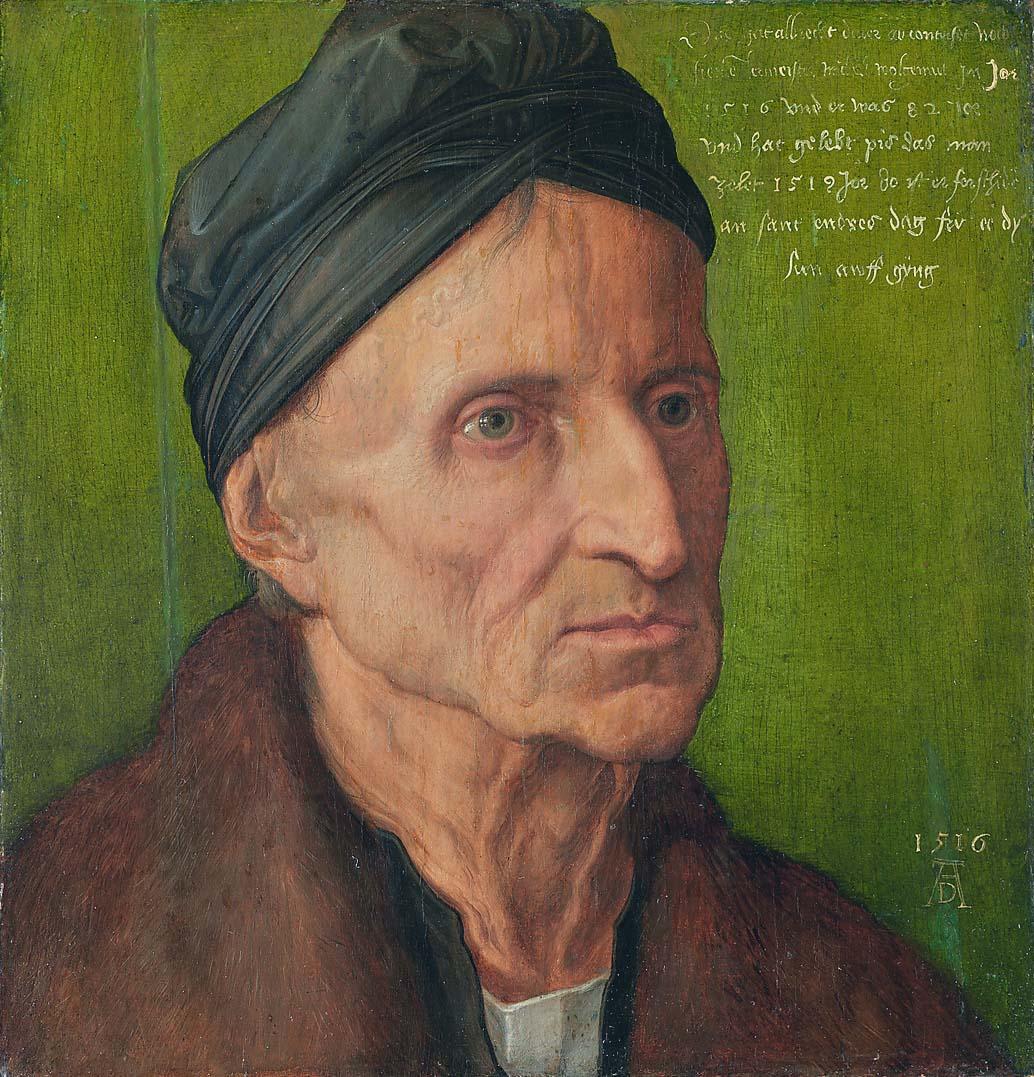 Michael Wolgemut, by Albrecht Dьrer