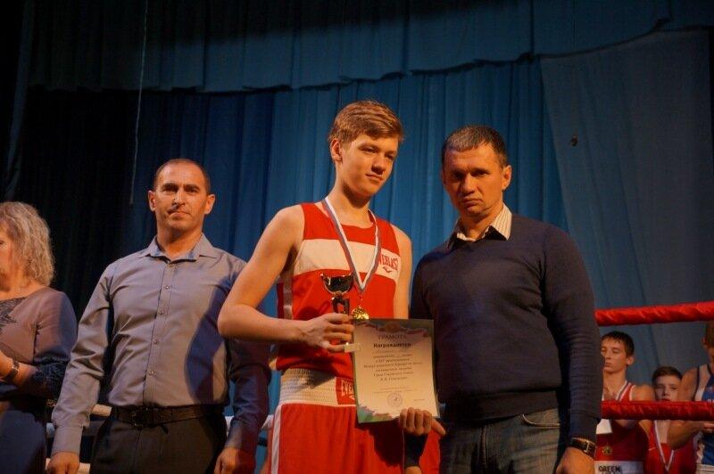 Награждение победителей межрегионального турнира по боксу