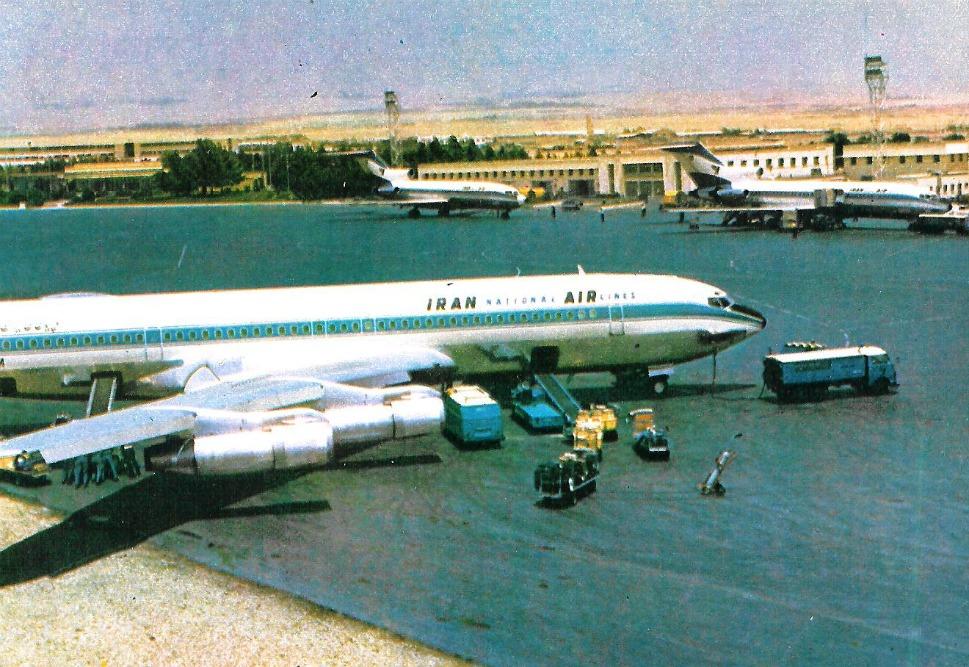 9. Международный аэропорт Мехрабад в 1971 году. Мехрабад должен был стать одним из самых загруженных