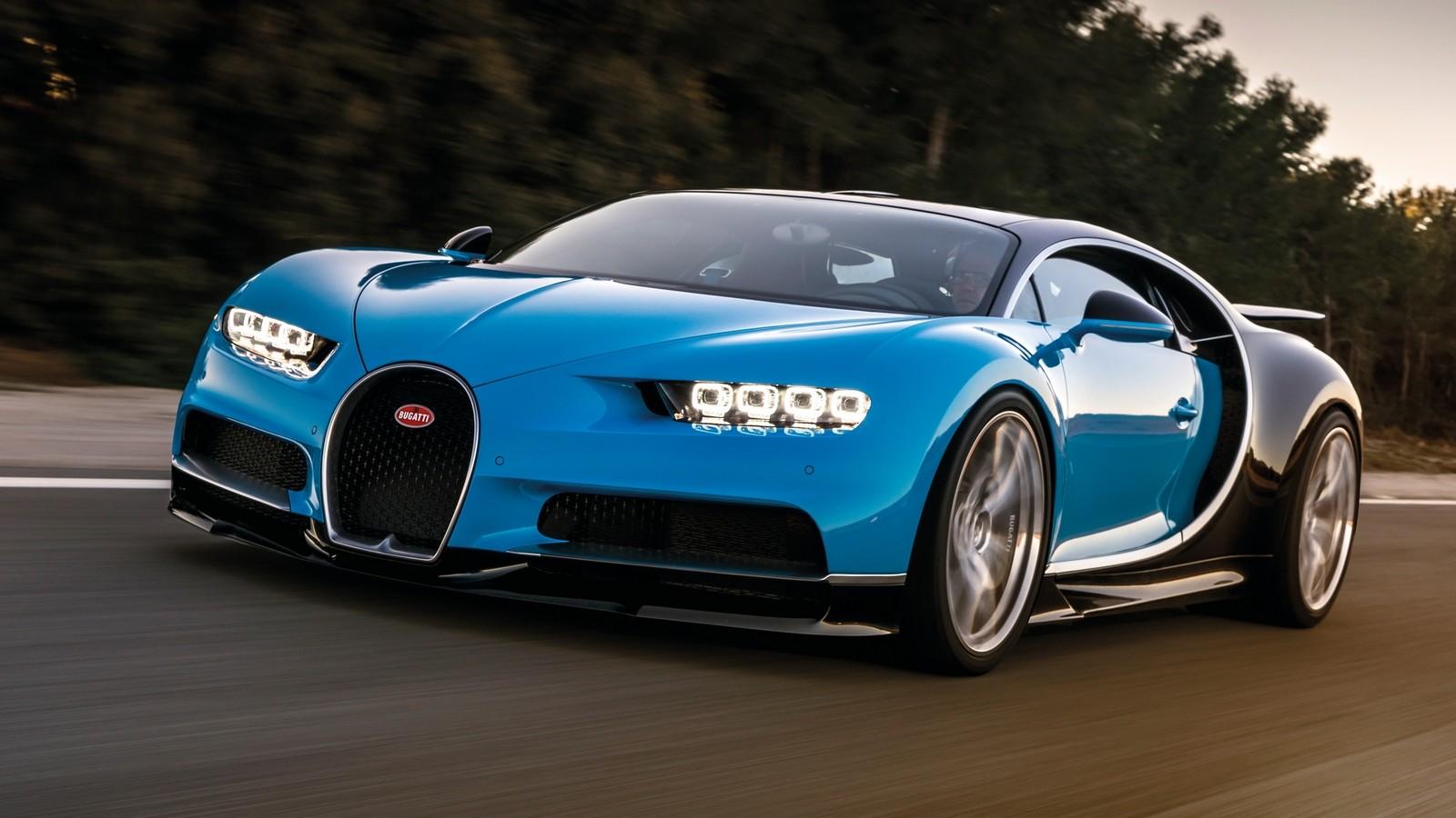 На фото: Bugatti Chiron 2016–н.в.