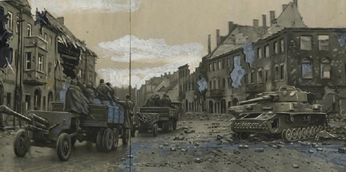 Через призму советской ретуши: редкие фотоколлажи из архива времён Великой Отечественной войны