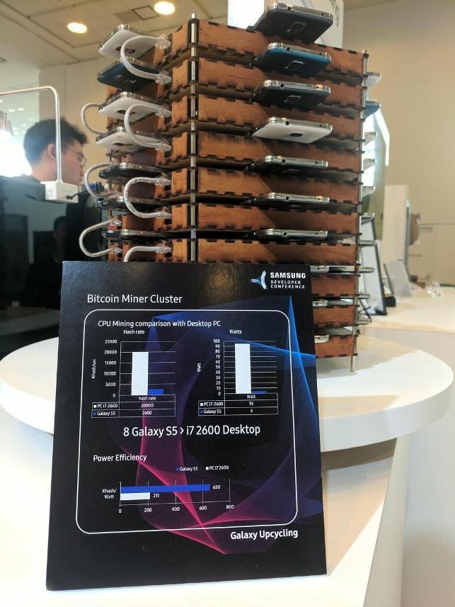 Представитель Samsung Робин Шульц заявил, что программа переработки Upcycling обеспечивает вторую жи