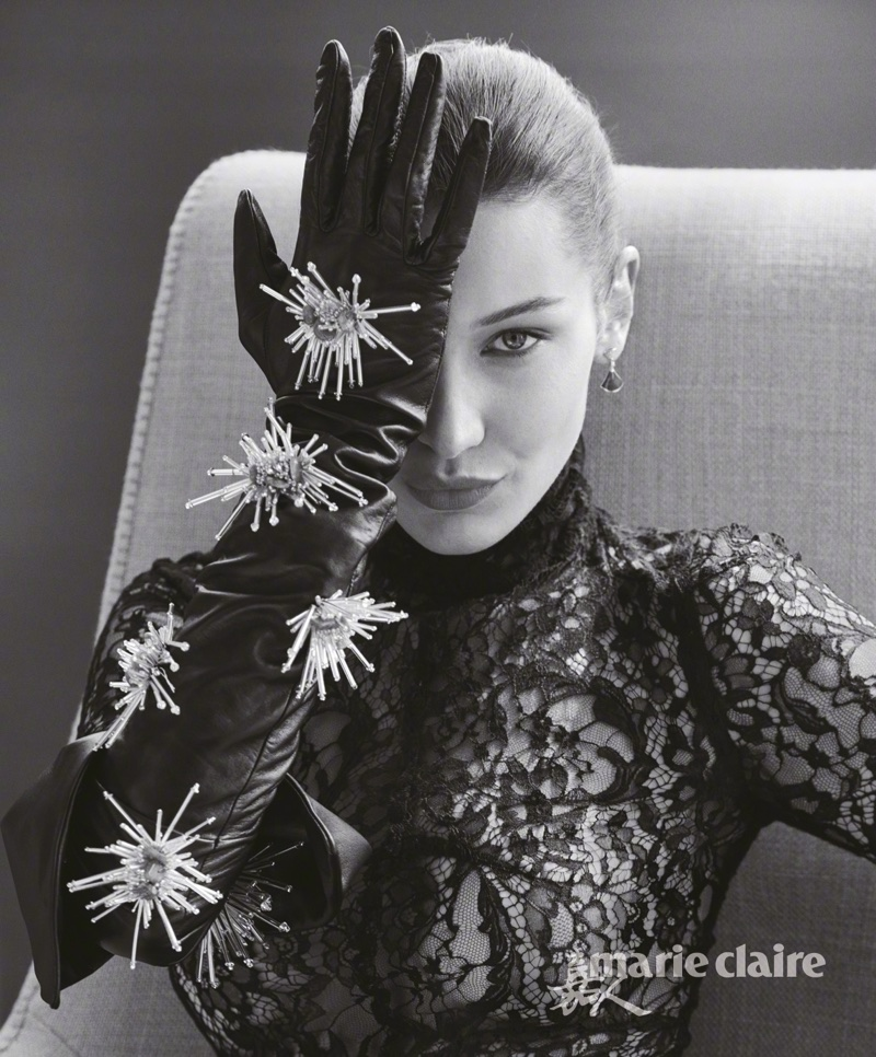 Белла Хадид в Marie Claire China (6 фото)
