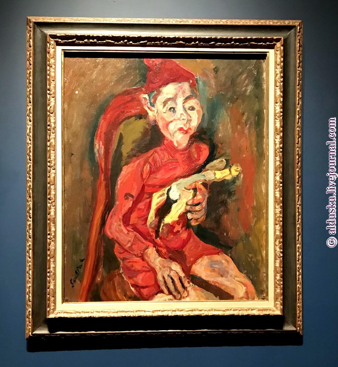 3. Ребенок с игрушкой. Около 1919. Фонд Оберштег (Фонд Има Оберштега), Художественный музей Базеля, Швейцария 81 x 64.5 cm.
