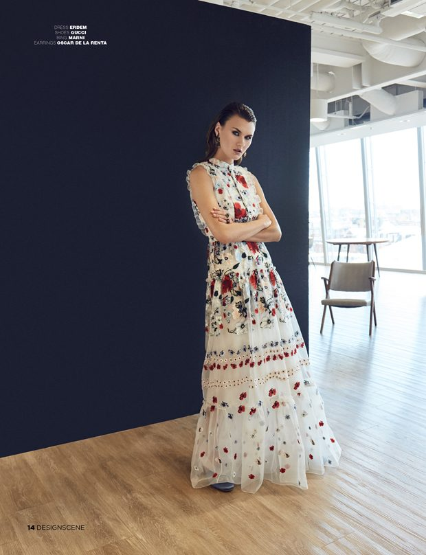 Known for his vibrant prints and detailed craftsmanship, Erdem is synonymous with versatile yet powe