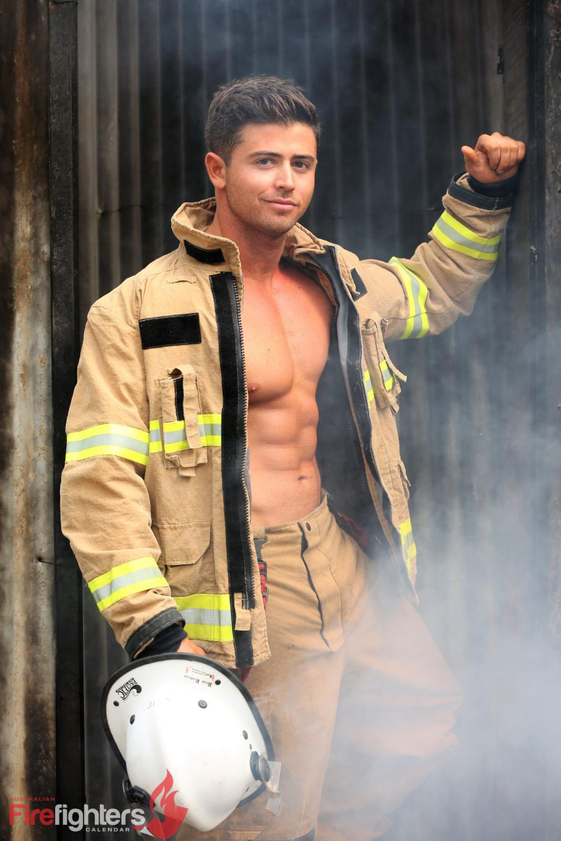 Muscles and Cute Puppies – Australian firefighters know how to sell calendars