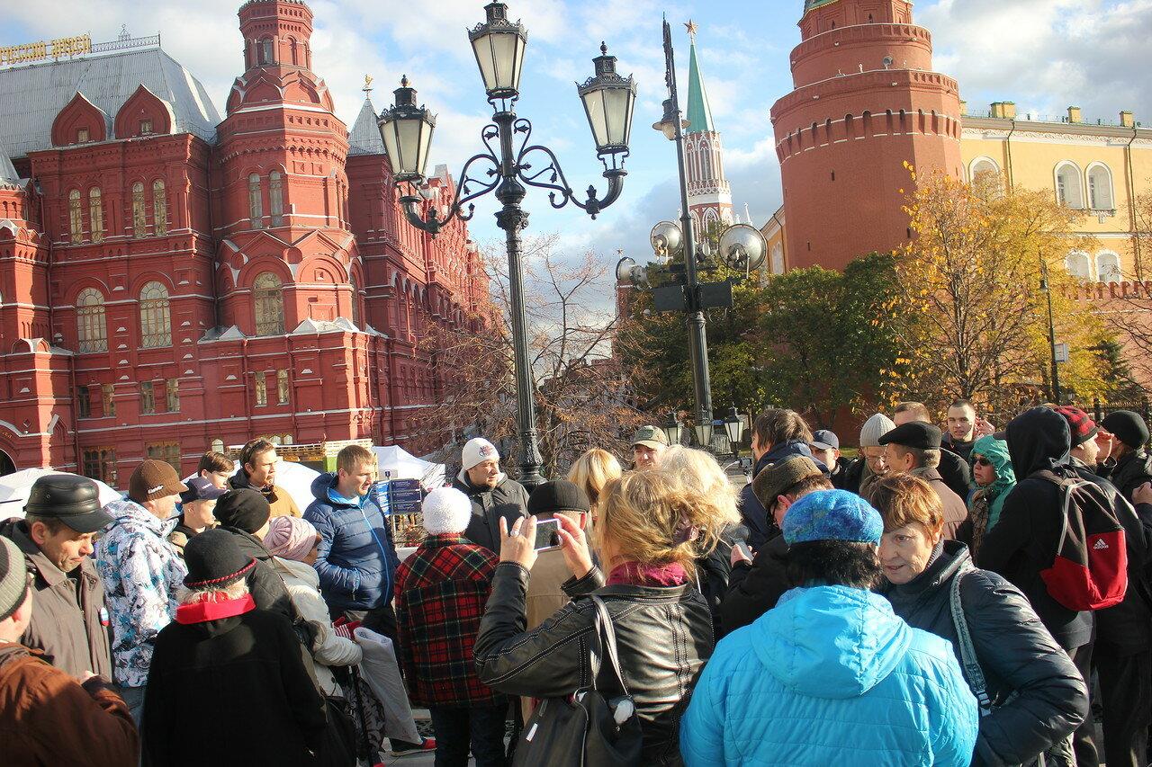 Очередная Прогулка оппозиции в Москве