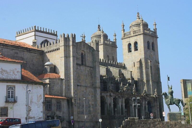 Порту, собор Се (Porto, Se Cathedral)