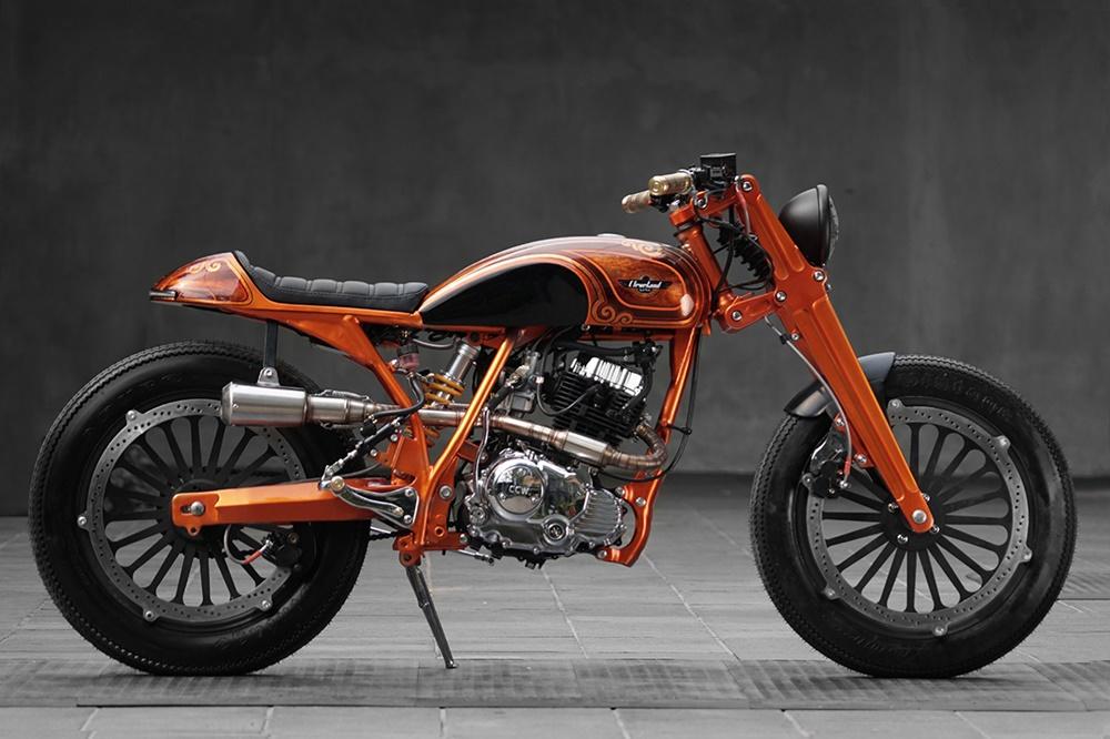 HThree Custom Garage: Кафе рейсер Cleveland Cyclewerks Ace