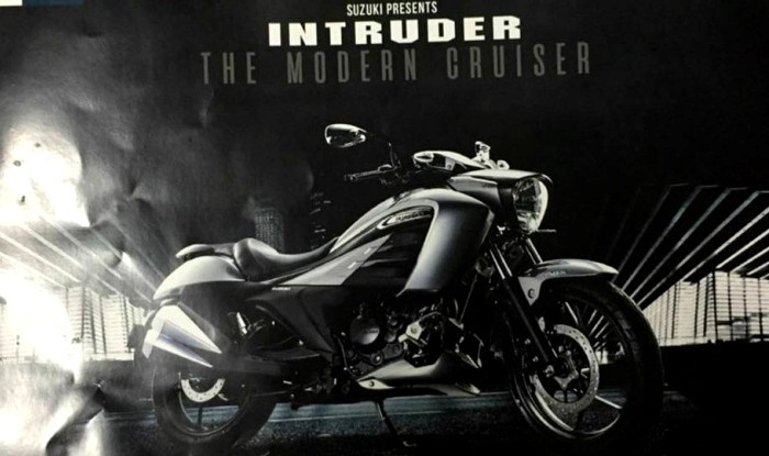Круизер Suzuki Intruder 150 представят в Индии
