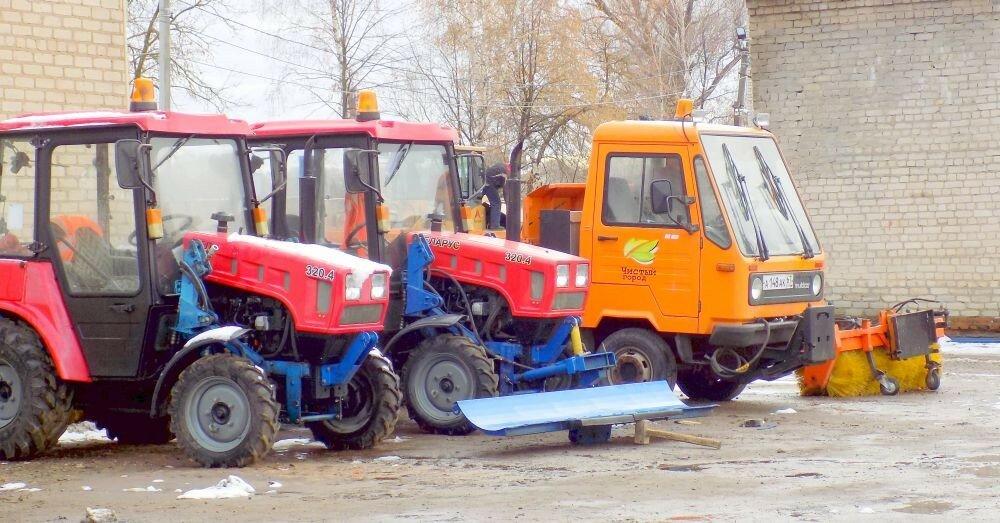 """""""Чистый город"""" готов к зиме"""