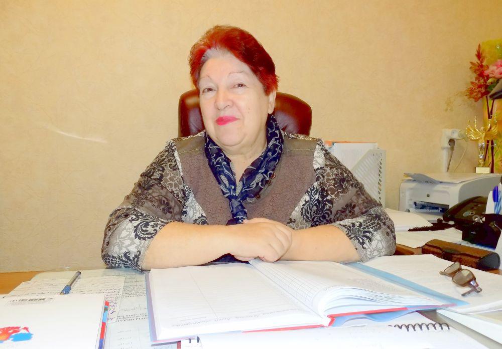 Любовь Батюлева, директор школы-интерната