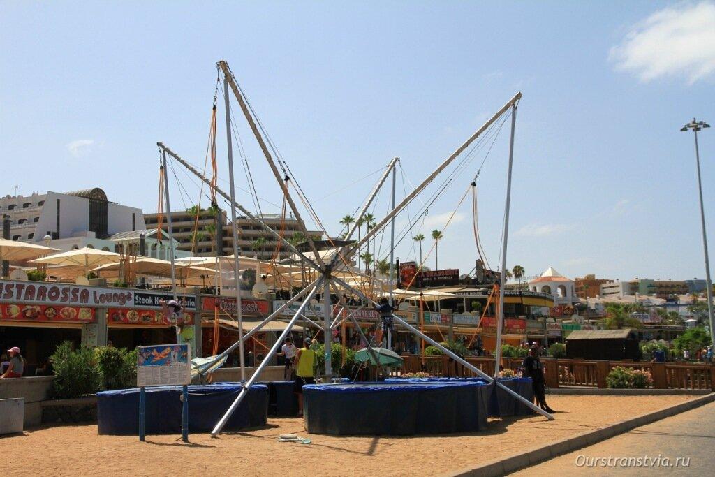 Лучшие пляжи Тенерифе для отдыха с детьми, фото пляжа Фанабе
