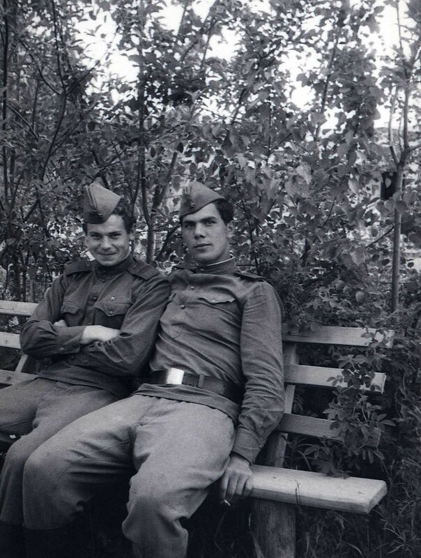 Будни военного городка. Середина 1960-х годов.