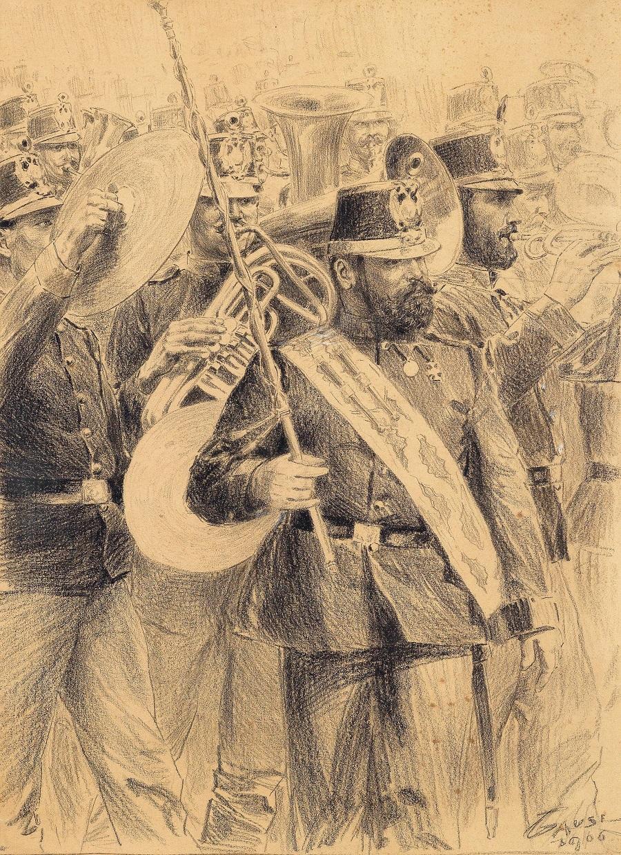Wilhelm Gause Regimentsmusik.