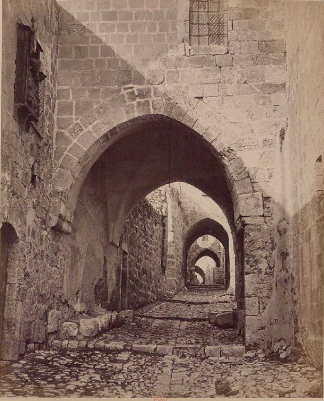 15. Иерусалим. Дорога во дворец царя Ирода
