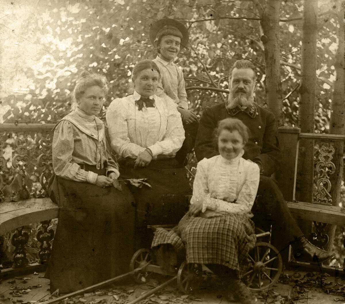 Семья Строльман в Перми