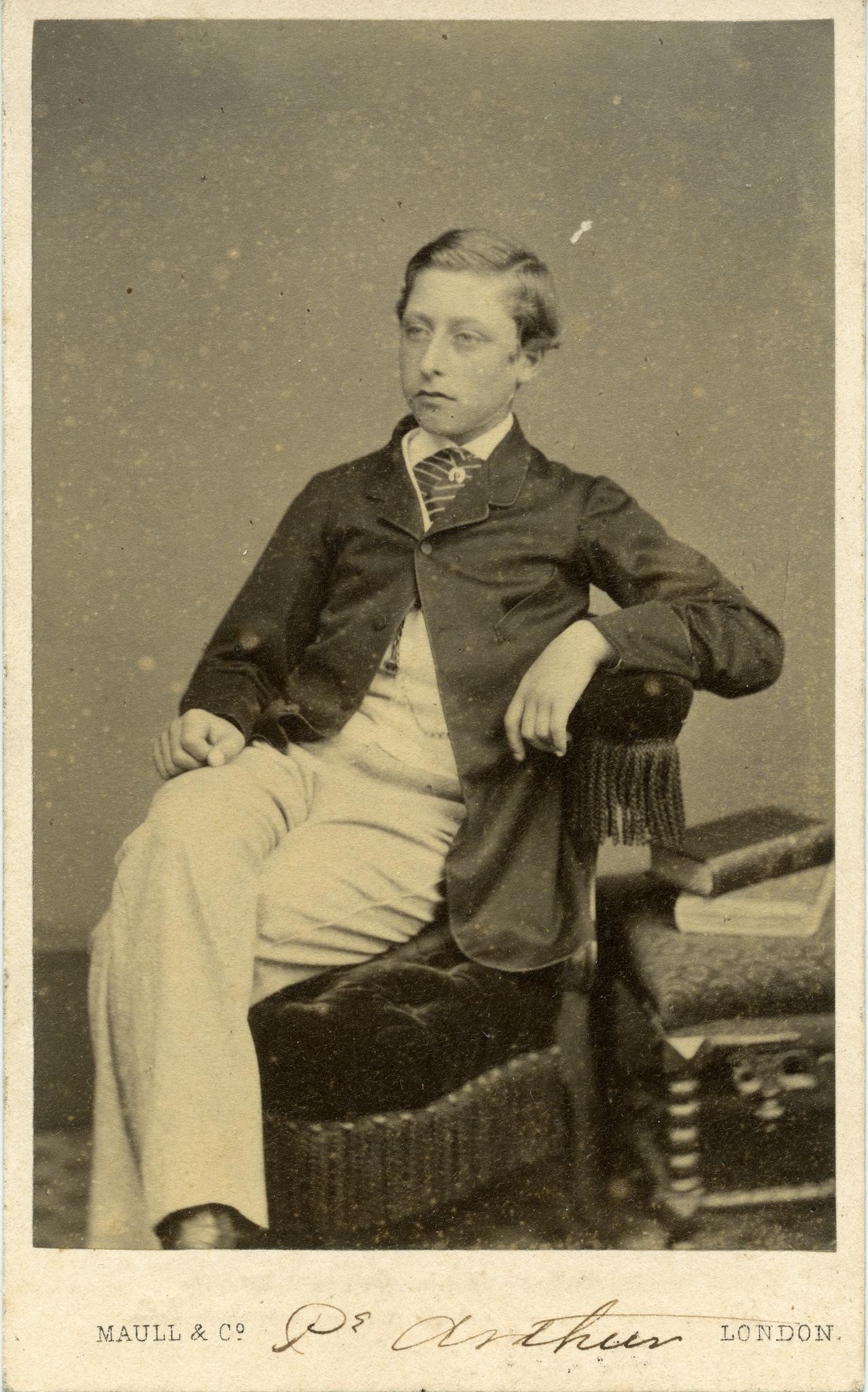 1865. Принц Артур