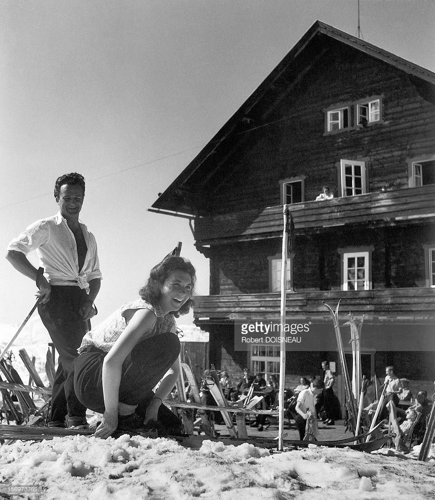 1946. Возле шале в Тироле, Австрия