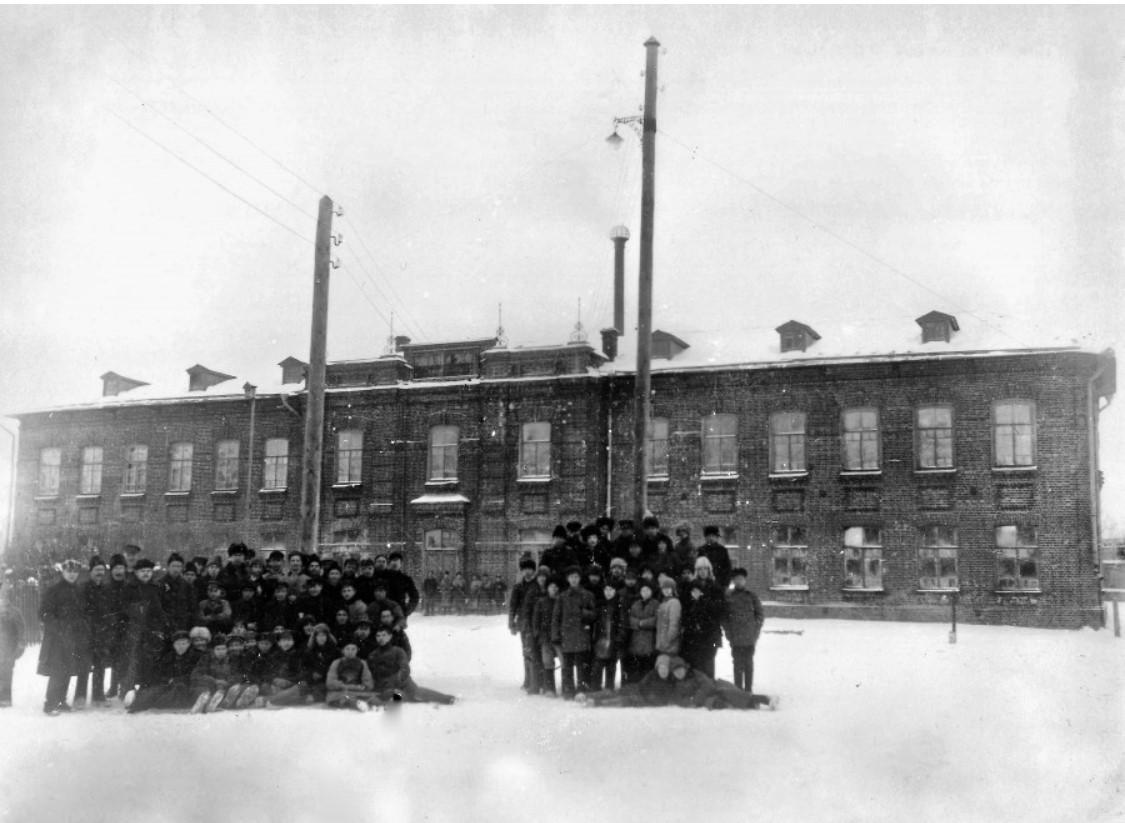 Вспомогательный кожевенный завод при ремесленном училище