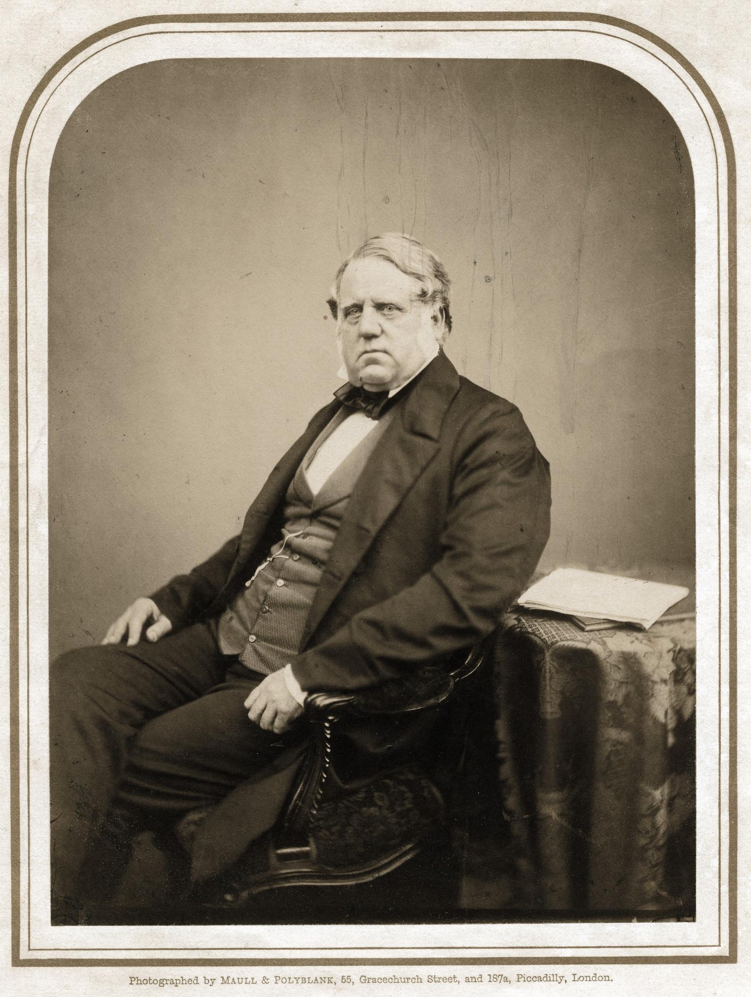 1856. Неизвестный мужчина