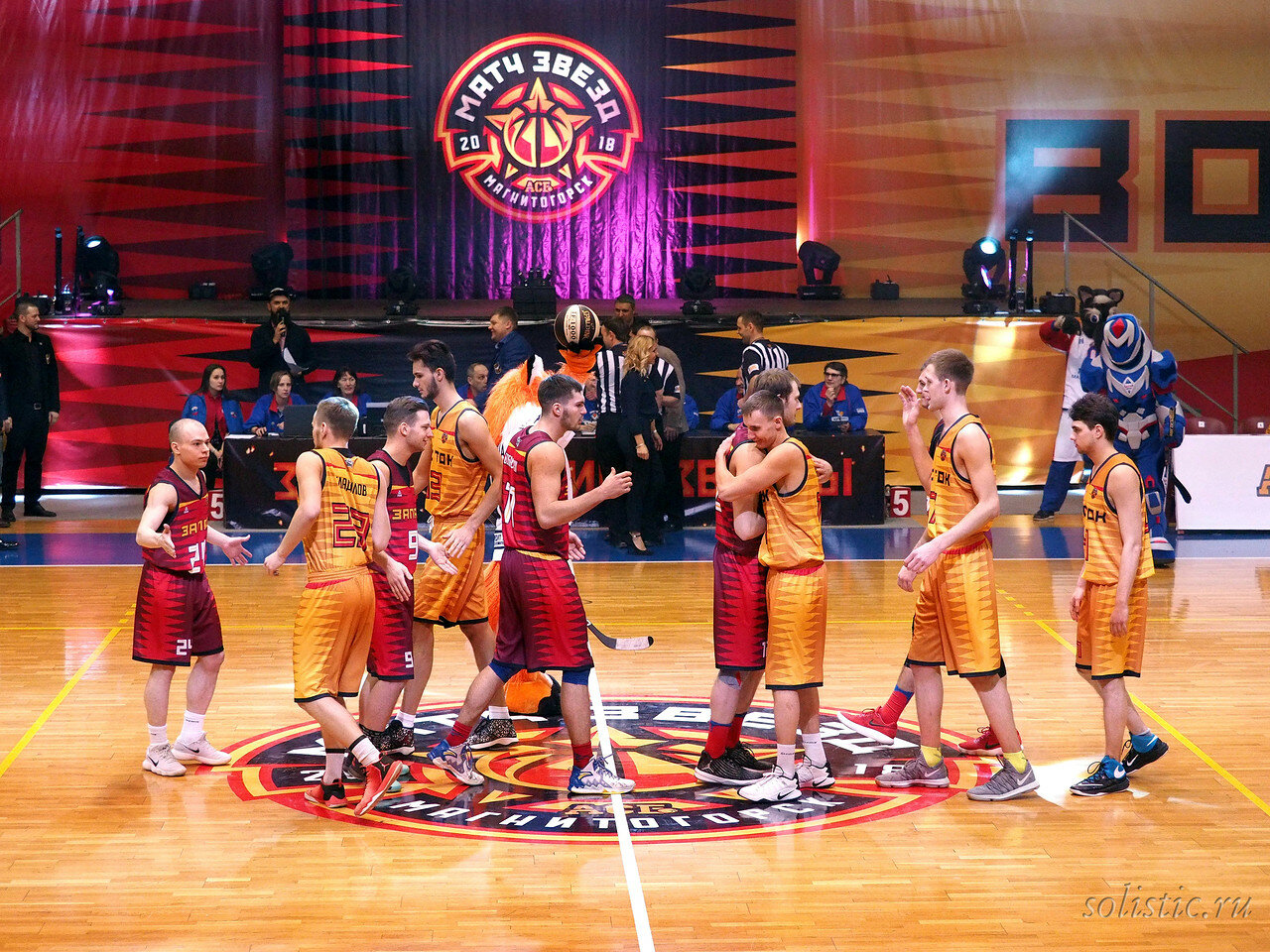 50 Матч звезд АСБ 2018 (ассоциации студенческого баскетбола)