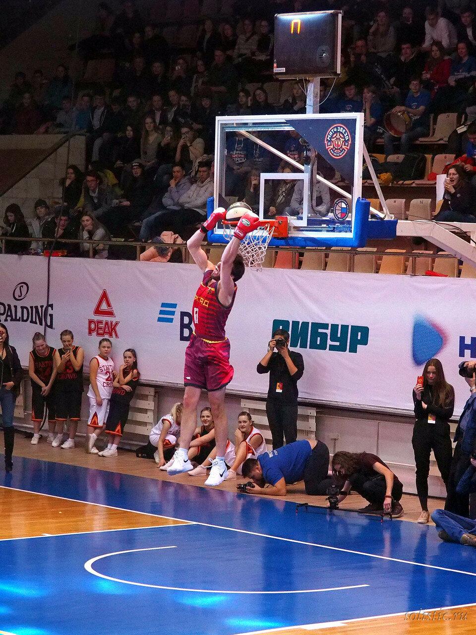 122 Матч звезд АСБ 2018 (ассоциации студенческого баскетбола)