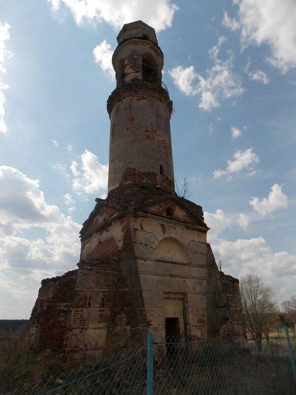 Торжокский район: село Арпачёво, колокольня работы Николая Львова