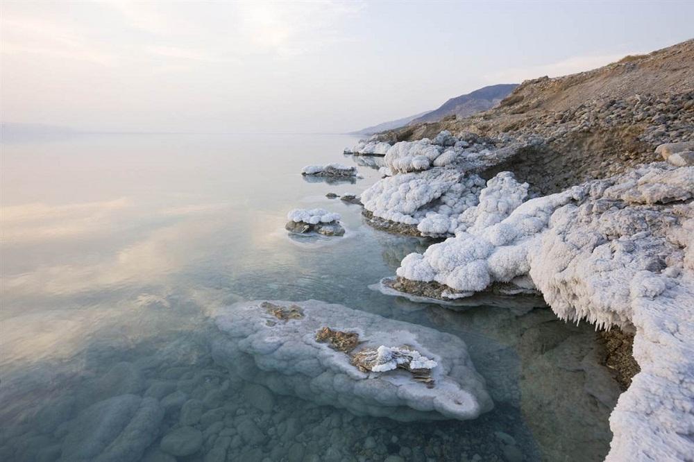 9. Мертвое море, Иордания. Мертвое море является не только одним из самых соленых водоемов на планет
