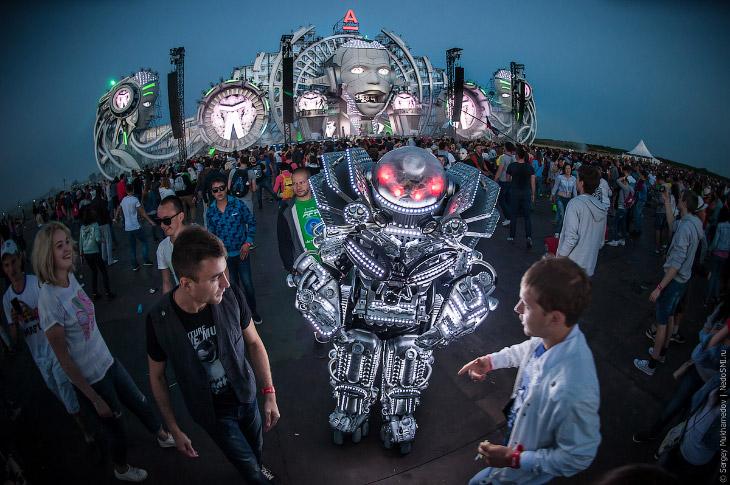 Фестиваль электронной музыки и технологий в Нижнем Новгороде (43 фото)