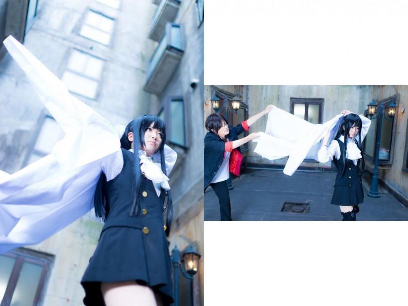 Суровое японское фото или как выглядит косплей за кадром