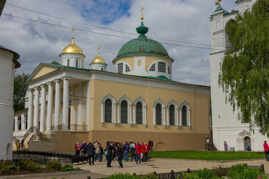 Церковь Ярославских Чудотворцев, Спасо-Преображенский монастырь, Ярославль