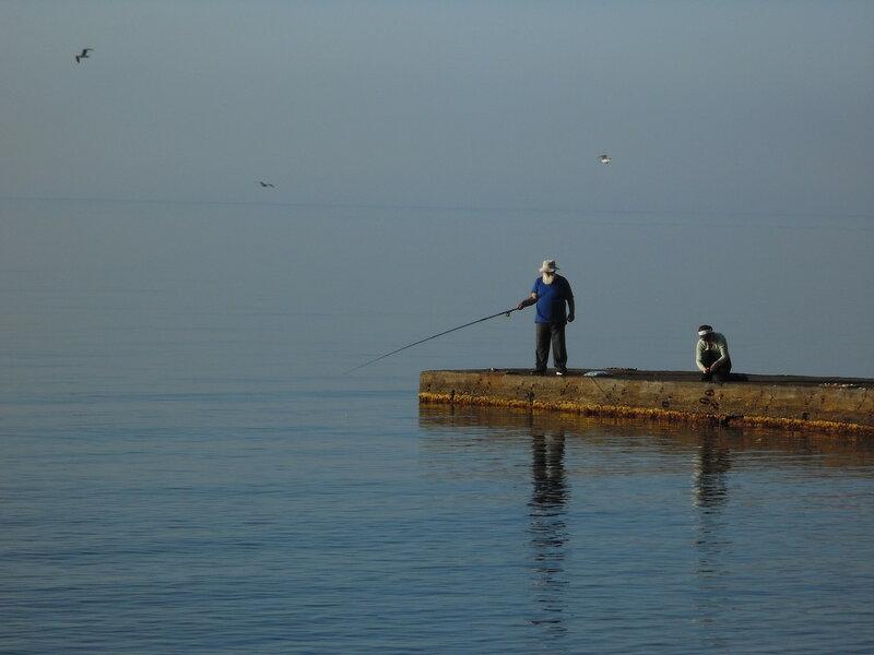 Рыбалка на рассвете