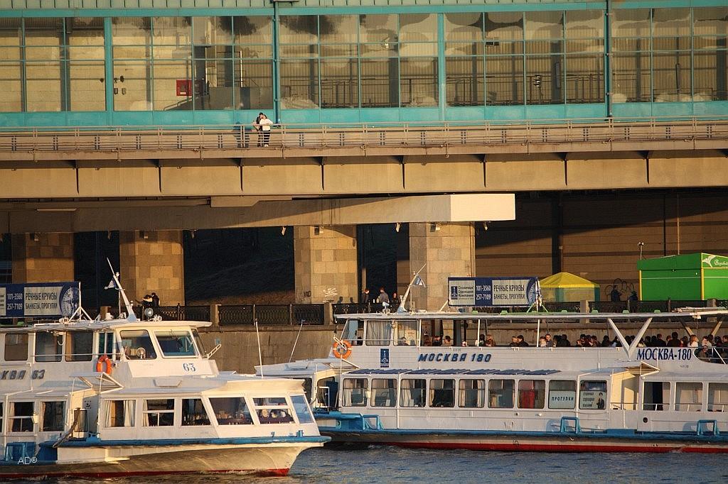 Теплоходы «Москва-63» и «Москва-180»