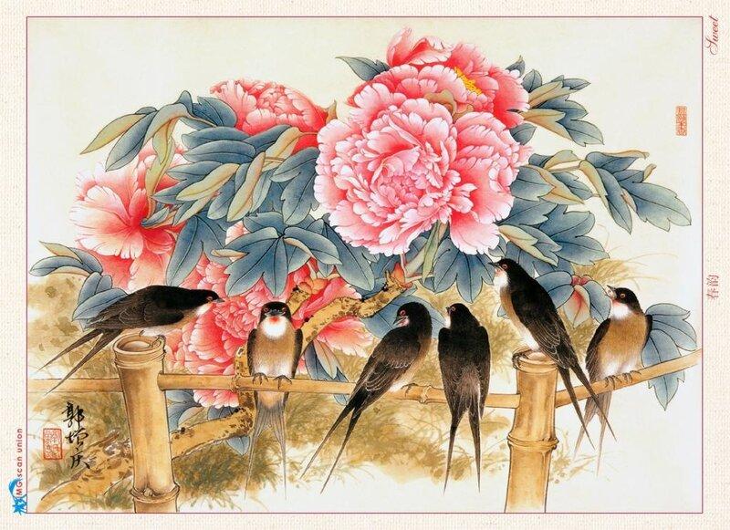 Ласточка - одна из тех птиц, которые хранят ключи от Ирия.