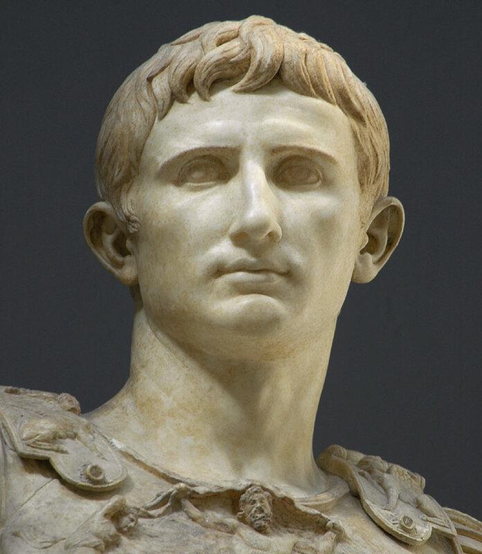Статуя Августа из Прима порта