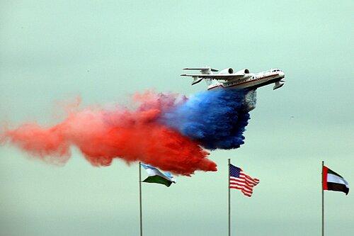 Пожарный самолёт МЧС
