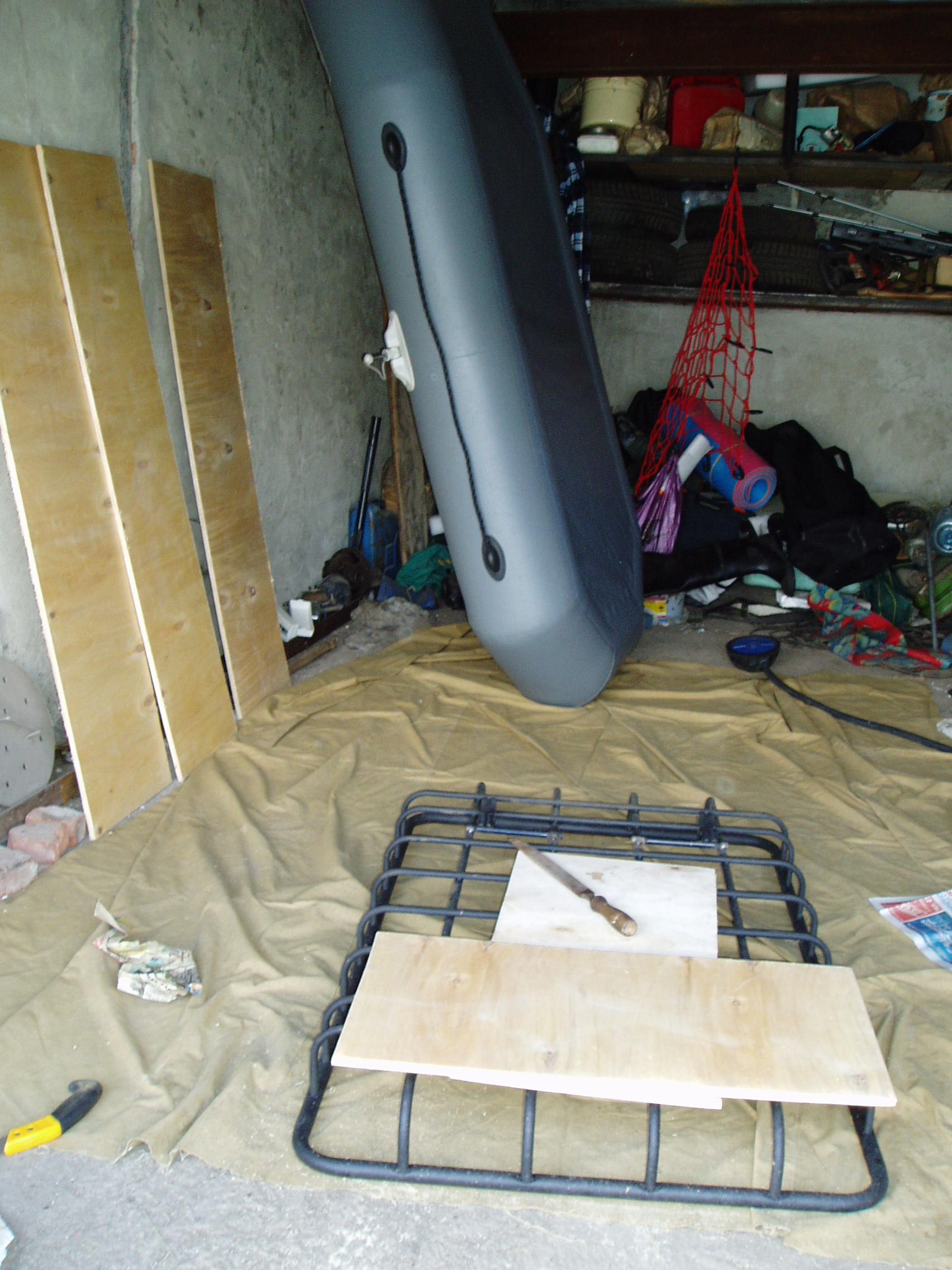 Как сделать полы для лодок пвх