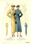 Женская мода 1935 года