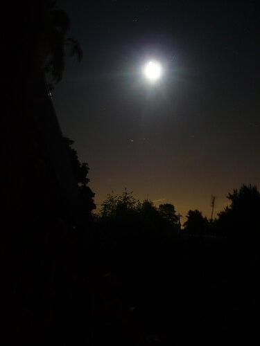 Ночь... Луна...