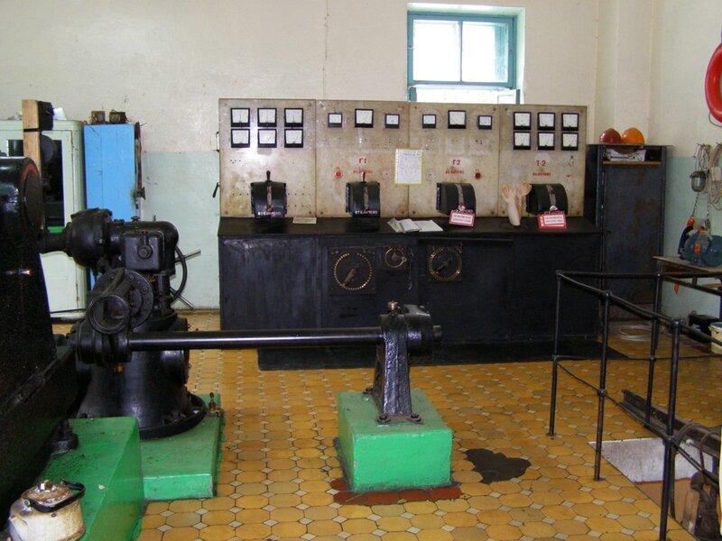 Электрический пульт Чемальской ГЭС