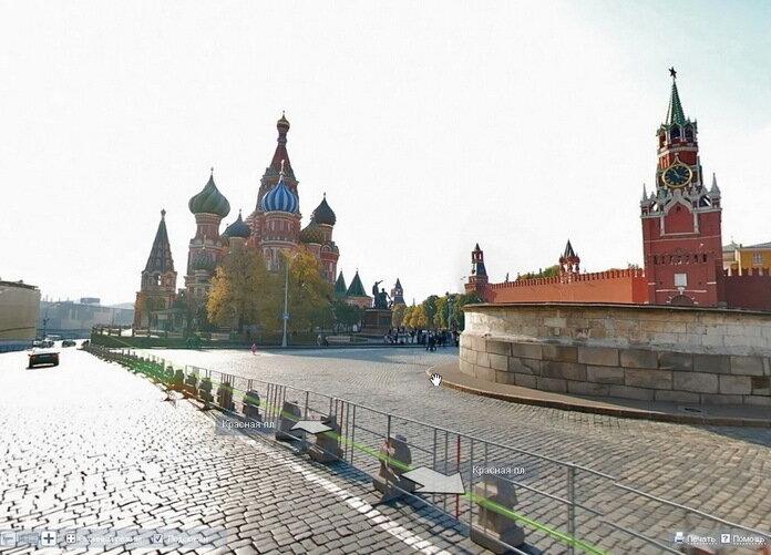 схема улиц города москвы.