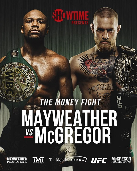 Флойд Мэйвезер — Конор Макгрегор / Mayweather vs McGregor (2017/HDTV/HDTVRip)