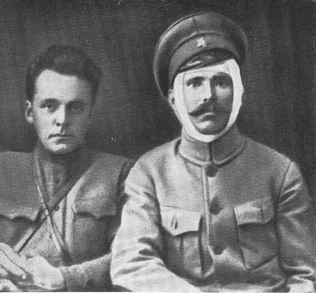 Д.А. Фурманов и В.И. Чапаев