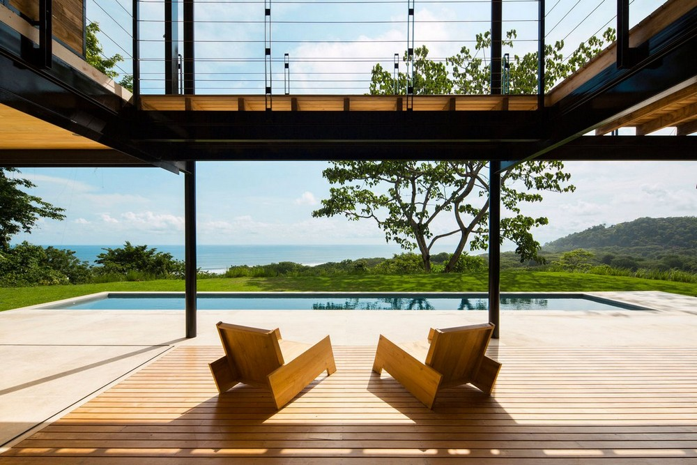 Дом с видом на Тихий океан в Коста-Рике