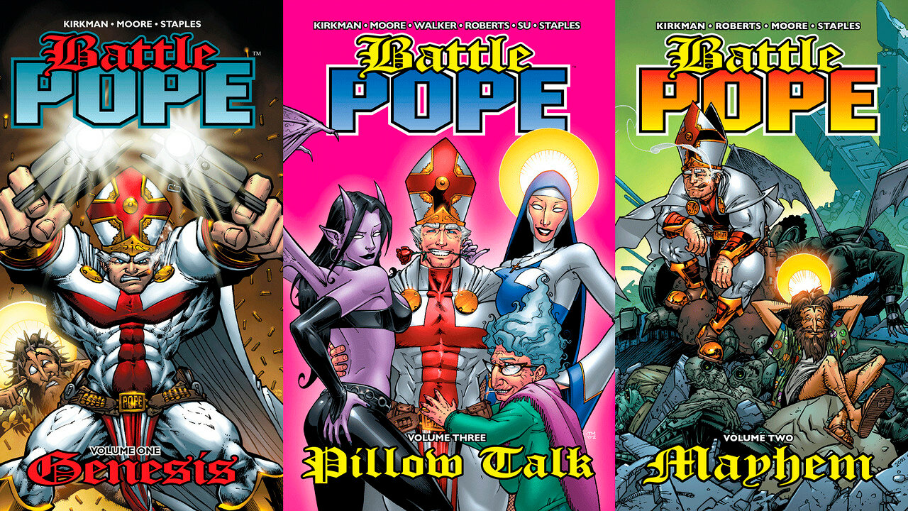 Battle Pope Comics