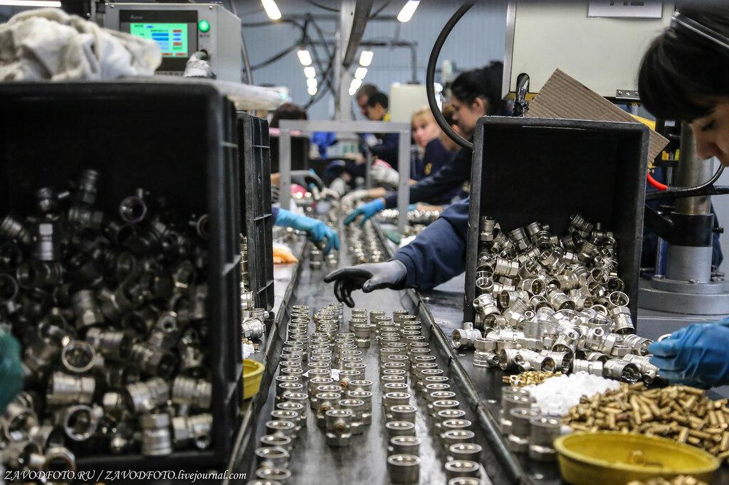 Как делают шаровые краны из латуни
